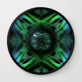 Primitive energy Wall Clock