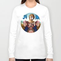 madonna Long Sleeve T-shirts featuring Madonna by DIVIDUS