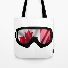 Canadian Goggles   Goggle Art Design   DopeyArt Tote Bag