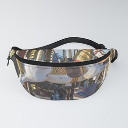 Wooden horse riding Fanny Pack