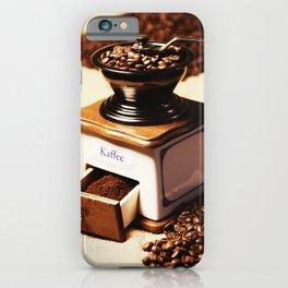 coffee grinder 4 iPhone Case