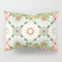 floral zellij ntropical Pillow Sham