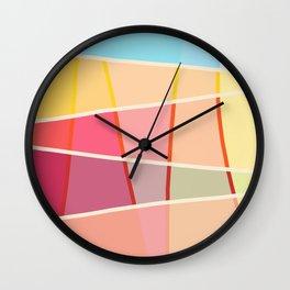 Colorful Design Sunshine Wall Clock