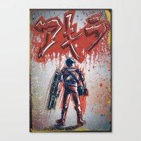 akira Canvas Prints featuring Akira by Joe Badon