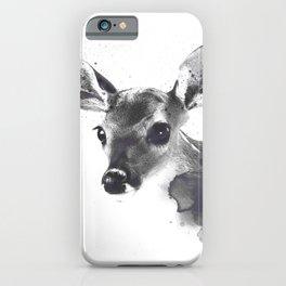Watercolor Deer iPhone Case