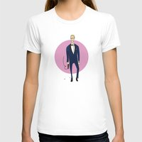 skyfall T-shirts featuring Bond / Skyfall by Maxim Nikitin