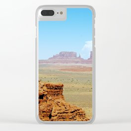 Monument Valley - Arizona/Utah, USA Clear iPhone Case