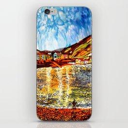 landskape-lake-fishing-oldtown iPhone Skin