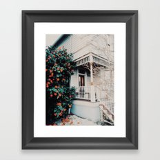 Portland Home Framed Art Print