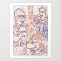 fifth element Art Prints featuring The Fifth Element by La May