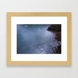 Sailing the Glass Framed Art Print