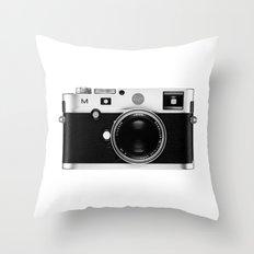 leica camera Throw Pillow