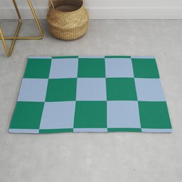 Checked Trendy Lifestyle Pattern Lamia Rug