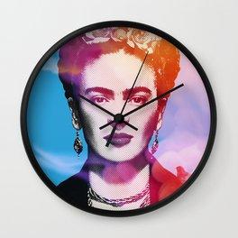 Frida blackbird Wall Clock