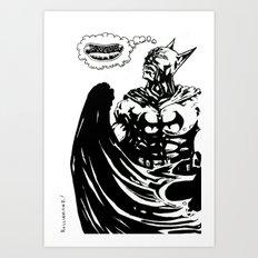 BM Wants a Hot Dog Art Print