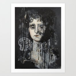 Forget Art Print