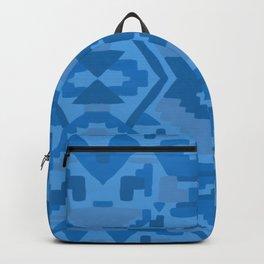 Geometric Aztec in Cobalt Backpack