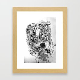 Plants in my Pants Framed Art Print