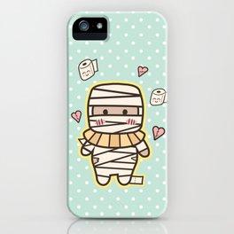 Kawaii Little Mummy iPhone Case