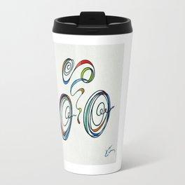 Bicycle - Zoomin' Through Travel Mug