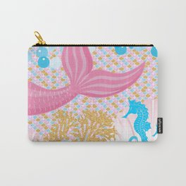 Living a Life as a Mermaid Carry-All Pouch
