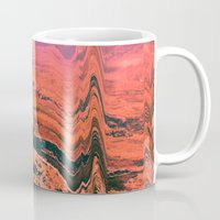 glitch Mugs featuring Glitch by Bethany West