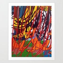 LICHTENSTEIN/PLUTO Art Print
