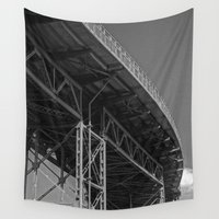 bridge Wall Tapestries featuring Bridge by Christophe Chiozzi