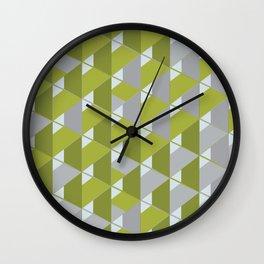 3D Lovely GEO V Wall Clock