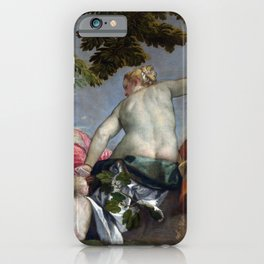 "Veronese (Paolo Caliari) ""Allegory of Love - Infidelity (Unfaithfulness)"" iPhone Case"
