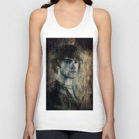 sam winchester Tank Tops featuring Sam Winchester by Sirenphotos