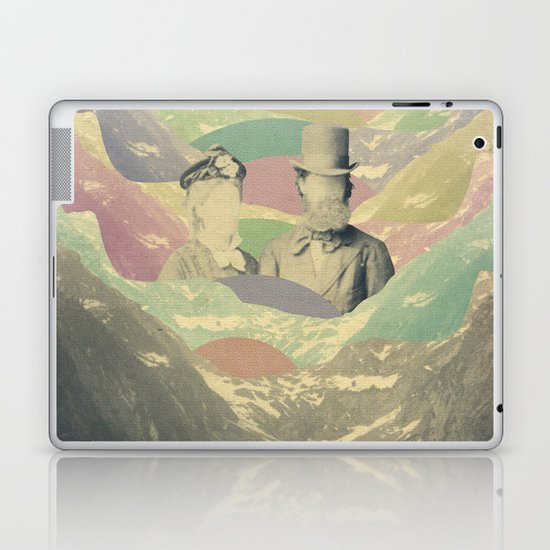 love will keep us strong Laptop & iPad Skin