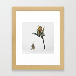 Lawn of Attraction Framed Art Print