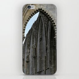 Glastonbury Abbey 2 iPhone Skin