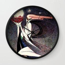 """Kay Nielsen Fairytale Illustration """"The Good Fairy"""" Wall Clock"""