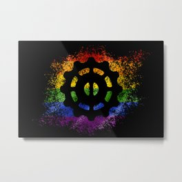 Helm of Awe - Pride Metal Print