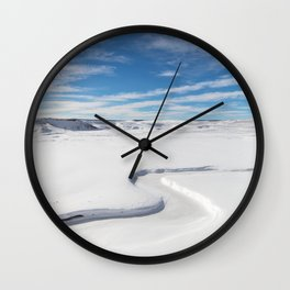 Yellowstone National Park - Trout Creek Wall Clock