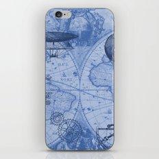 Steampunks in Blue iPhone Skin