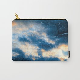Celestial Grunge Clouds Carry-All Pouch