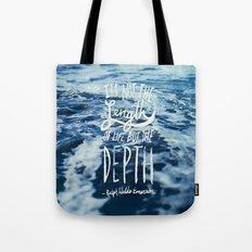 Depth x Ocean Tote Bag