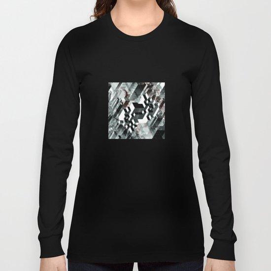 Sim City Monochrome Long Sleeve T-shirt