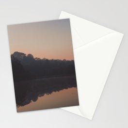 deep hayes sunrise reflection Stationery Cards