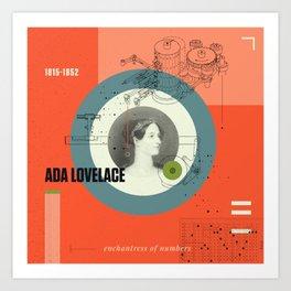 Beyond Curie: Ada Lovelace Art Print