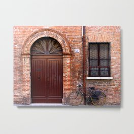 Door Series (6) Metal Print