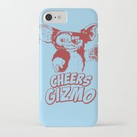 gizmo iPhone & iPod Cases featuring Cheers Gizmo by Roma