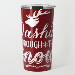 Dashing- Red Travel Mug