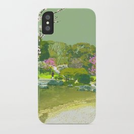 Ume Blossoms iPhone Case