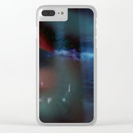 Organic Abstract N°6 Clear iPhone Case