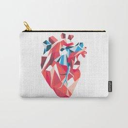Poligon Heart Carry-All Pouch