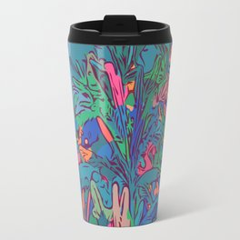 Neon color lavenders Travel Mug